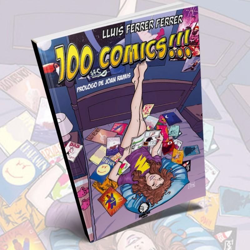 100 comics de Lluis Ferrer Ferrer (Apache Libros)